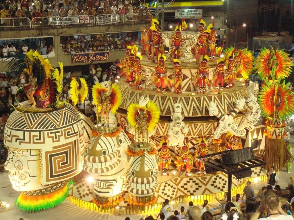 Le carnavald e Rio au Brésil